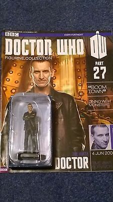 Eaglemoss doctor who figurine collection - Issue 27: THE NINTH DOCTOR