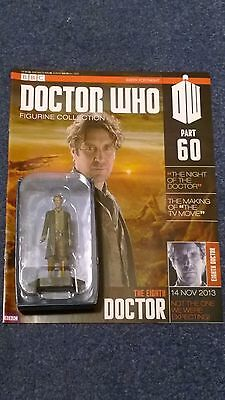 Eaglemoss doctor who figurine collection - Issue 60: THE EIGHTH DOCTOR