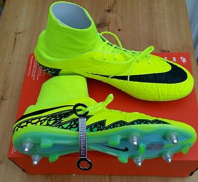 Nike Mens Hypervenom Phatal II DF SG PRO Football Boots sock boots UK 10 EU 45