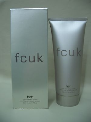 fcuk Her Bath and Body Souffle By French Connection 200ml 6.7fL.oz