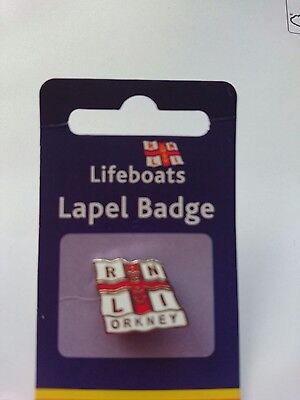 Limited Edition Orkney RNLI Pin Badge