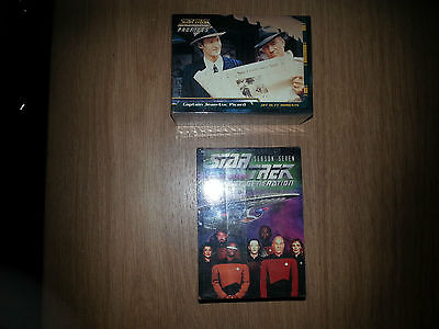 2 x Star Trek shrink wrapped card sets