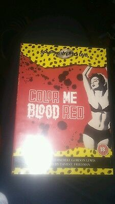 Color me blood red dvd
