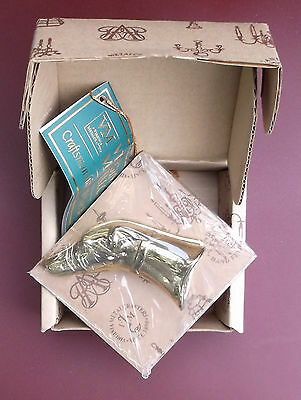 Virginia Metalcrafters Greyhound Paperclip - New In Box - Very Rare
