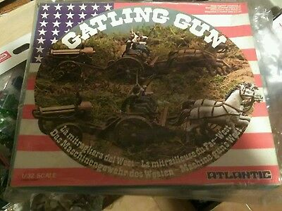 gatling gun atlantic far west 1/32 mib
