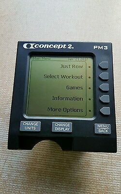 PM3 Monitor for Concept2 Rowing MACHINE.excellent condition