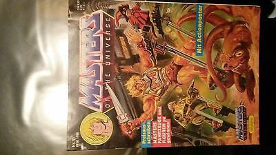 Comic Masters of the Universe Nr. 11 von 1988 mit Actionposter