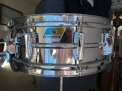 1969 Ludwig LM410 Super Sensitive Snare Drum in Excellent Condition!