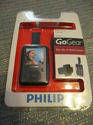 Philips GoGear Move Pack PAC017 Belt Clip, Armband and Pouch New FREE SHIPPING