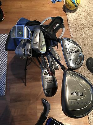 PING Moxie Junior Full Golf Club Set (&Junior Driver + Rescues Irons Putter Etc)