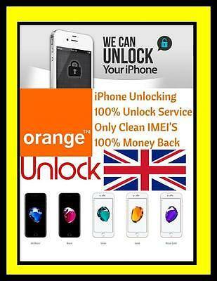 Iphone 7 And 7 Plus Ee T-Mobile Orange Unlocking Service Payg Only
