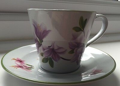 Spode Oriental Flowers Tea Cup And Saucer