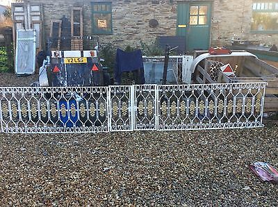 Antique Wrought & Cast Iron Gate and Railings