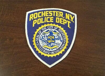 Rochester New York Police Shoulder Patch