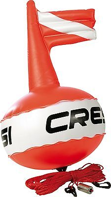 Cressi Competiton Round Float Buoy - Red