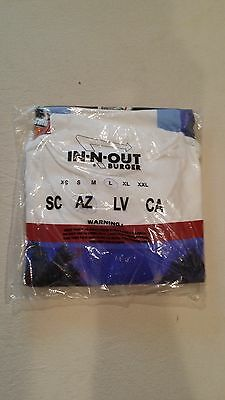 Sealed Vintage IN-N-OUT BURGER The Wharf design Arizona Large T-Shirt Tee Shirt