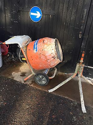 Belle Minimix 150 Cement Mixer Electric 240 V Volt Complete With Stand