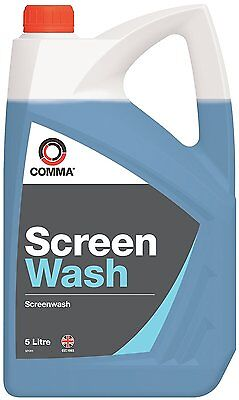 Comma Xstream Screenwash 5L Highly Concentrated With Anti Smear Xsw5L