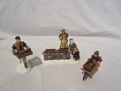 Dept 56 Dickens Village Series Tending the Cold Frame #58416