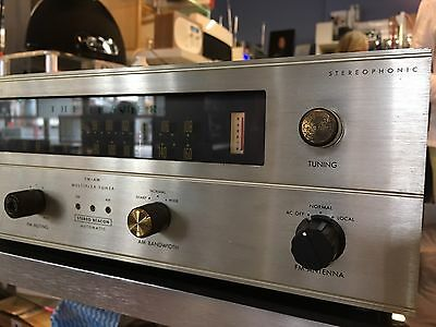 The Fisher R-200 FM Tube Tuner Rare Collectable Working Order $400
