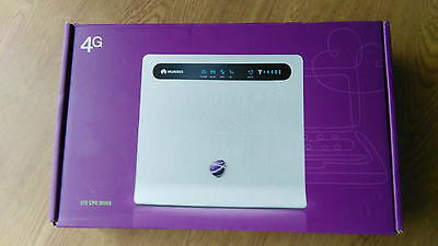 HUAWEI LTE CPE B593 S-22 4G Router GATEWAY 150MBPS WIFI  EE o2 GENUINE