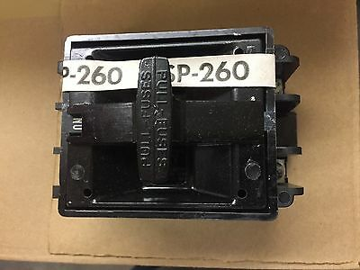 **new** Square D Fsp-260 Fsp 260 Fsp260 2Pole 60Amp Fuse Block And Pullout