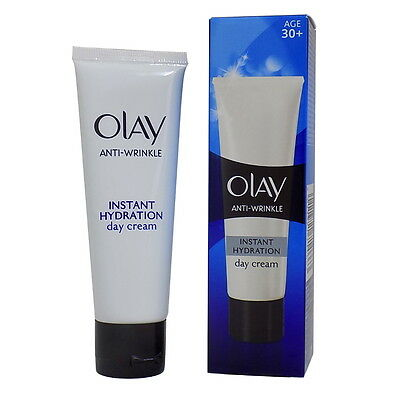 Olay Anti-Wrinkle Instant Hydration Day Cream (50ml) - Buy one get one Free