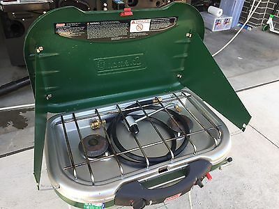 Coleman Gas Camp Stove + Stand