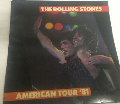 The Rolling Stones 1981 Tour Book