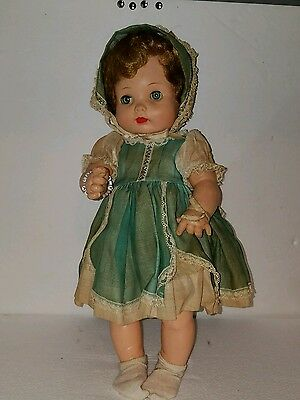 Effanbee My Fair Baby 16 Inch Original Outfit  Beautiful 1957-59