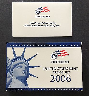 2006-S U. S. Mint Proof Set With Box And Coa
