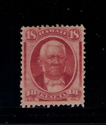 US Hawaii Stamp SC# 34 MNG Cat.$95