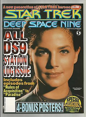 Star Trek DS9 #7   1994 All DS9 Station Issue - Dax & Posters  Starlog (MINT)