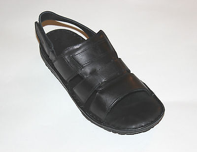 MENS US 7-11 NEW GENUINE LEATHER---Handmade Cushioned Sandals- Leather lining