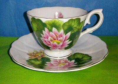 Napco Water Lily Tea Cup and Saucer