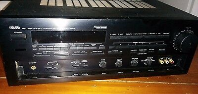 Yamaha RX V-1070 Home Theater Surround 5.1 Stereo Receiver **FOR PARTS ONLY**
