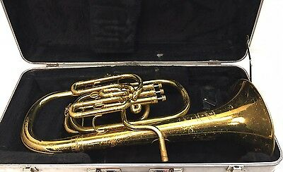 Nice Besson Compensating Baritone In Ready To Play Condition