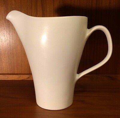 Hard to Find Mid Century Modern Russel Wright Pitcher Antique White by Knowles
