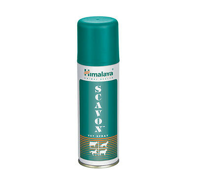 Himalaya Scavon Spray - 100ml For Dog Cat Horse Cow, Fungal Infection Care
