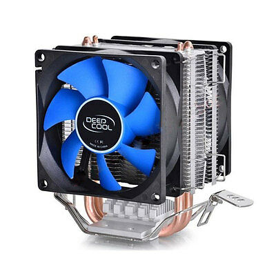 CPU Cooler Double Heatpipe Radiator For Intel AMD 754/940/AM2+/AM3/FM1/FM2