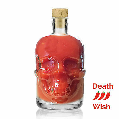 """The Modern Gourmet Presents """"Just Like Fire"""" Crystal Skull Hot Sauce Super Value"""
