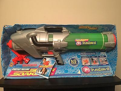 "SUPER SOAKER CPS SPLASHZOOKA 65oz ""NIB"" LARAMI WATERGUN WATER FIGHT"