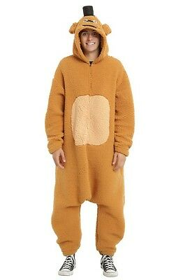 Five Nights At Freddy's Kigurumi Union Suit Adult One Size Cosplay NWT!