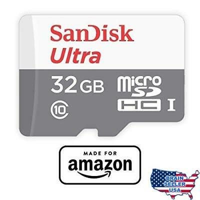 SanDisk 32 GB micro SD Memory Card for Fire Tablets and Fire TV, New, Free Ship