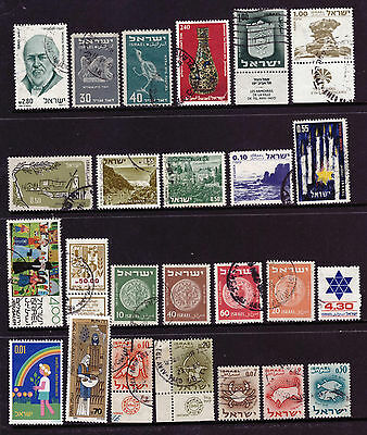 ISRAEL Stamps old vintage stamps mix used
