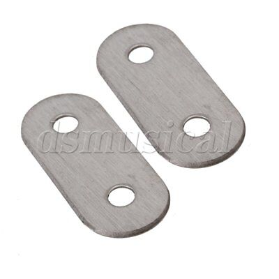 """8x 75mm 3/"""" Tee Plates T Mending Bracket Brace Support Fixing Joining Repair"""