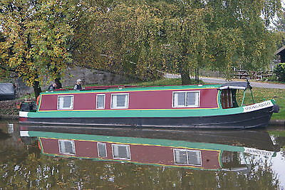 Shongalolo: 42ft cruiser stern narrowboat