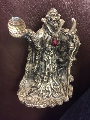 The Moon Wizard By A.G.Slocomb Superb Collection Pewter Valuable Bargain