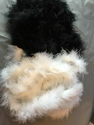 Fluffy feather boa fancy dress hen night party accesory