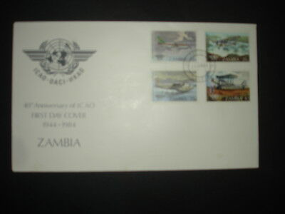 Zambia : 1984 Air Transport : Pictorial FDC
